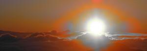 Hawaii Volcano Sunrise